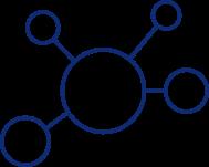 molecule-blue